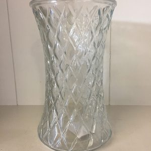 Clear diamond vase - Theflowerden