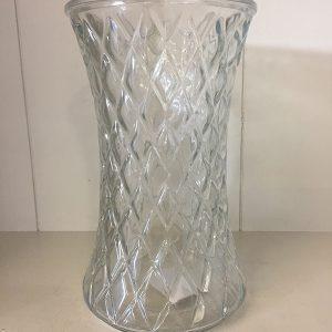 Clear diamond vase - Theflowerden