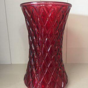 Red Diamond Vase - Theflowerden