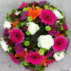 A Circular Wreath Of Colour